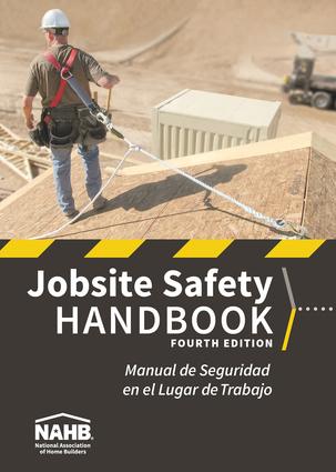 NAHB Jobsite Safety Handbook, English-Spanish, Fourth Edition, 100 PK