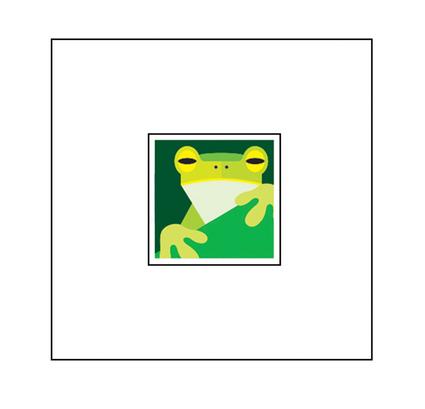 Animal Pop-Up Card: Frog