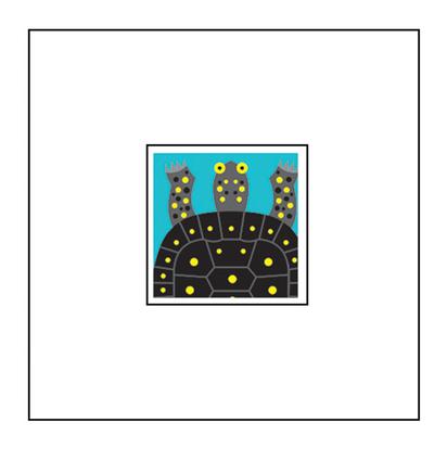 Animal Pop-Up Card: Turtle