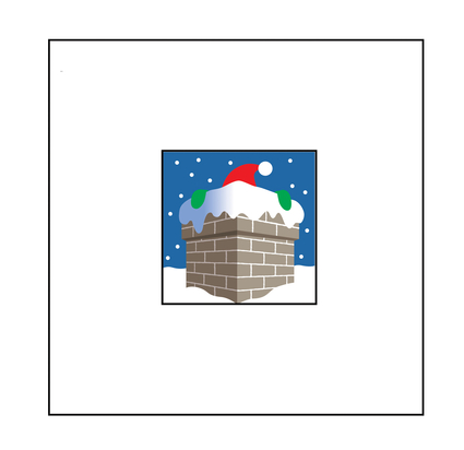 Christmas Chimney Card