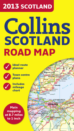 2013 Collins Map of Scotland