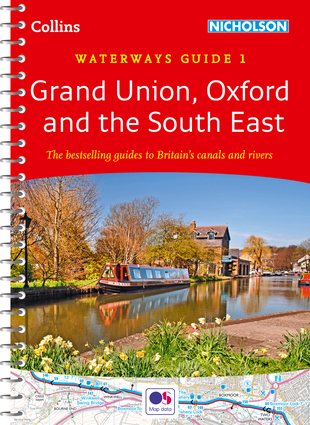Collins Nicholson Waterways Guides – Grand Union, Oxford & the South East No. 1