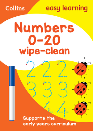Numbers 0-20: Wipe-Clean Activity Book