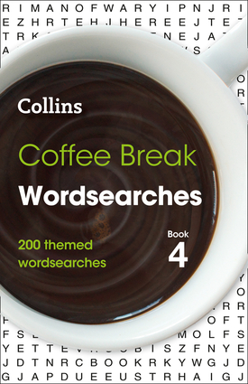 Coffee Break Wordsearches Book 4
