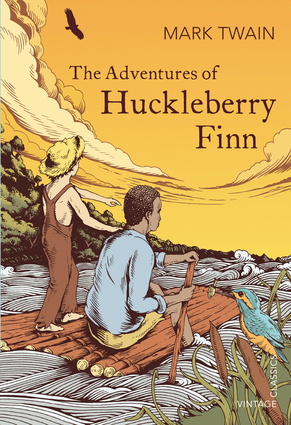 a review of mark twains book the adventures of huckberry finn Beloved for more than a century, mark twain's the adventures of huckleberry finn is a sequel to the adventures of tom sawyer and continues the adventures of huckleberry finn, tom sawyer, and.