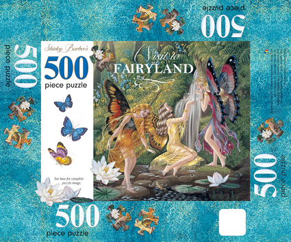 A Visit to Fairyland 500-Piece Puzzle