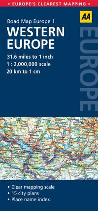 Road Map Western Europe