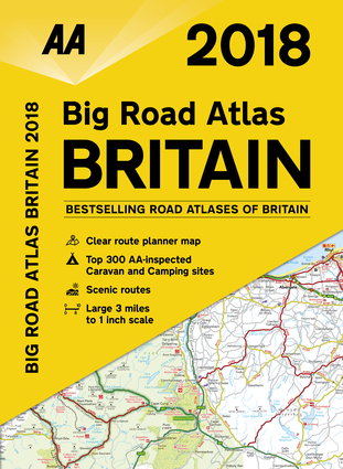 2018 Big Road Atlas Britain