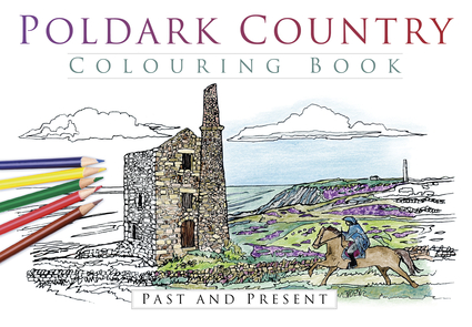 Poldark Country Colouring Book