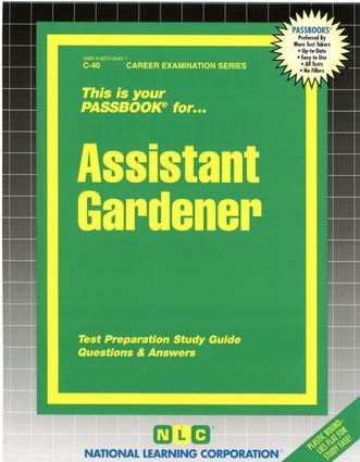 Assistant Gardener