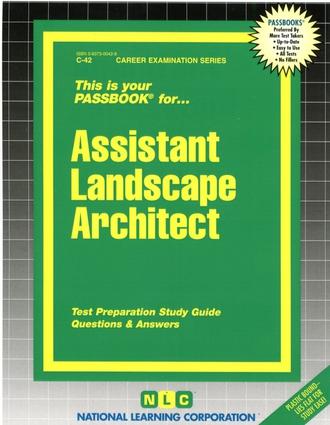 Assistant Landscape Architect