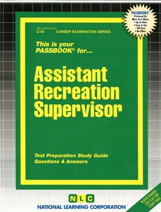 Assistant Recreation Supervisor