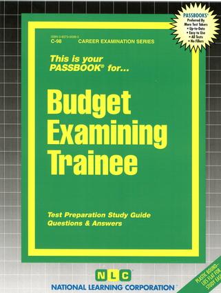 Budget Examining Trainee