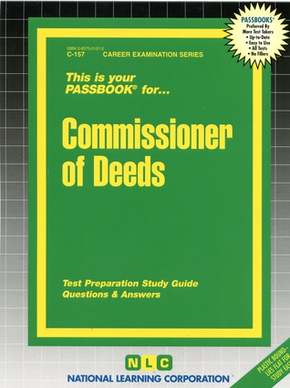 Commissioner of Deeds