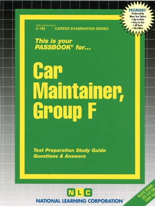 Car Maintainer, Group F