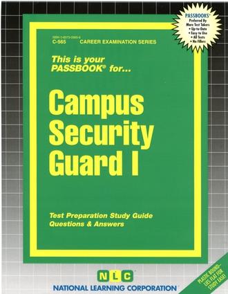Campus Security Guard I