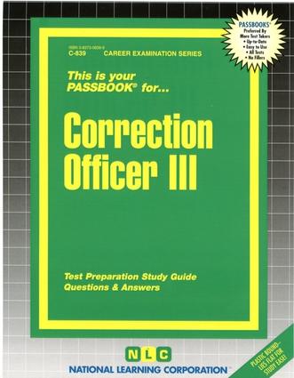 Correction Officer III