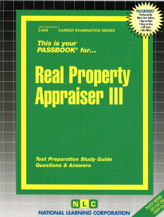 Real Property Appraiser III
