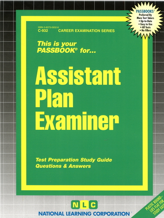 Assistant Plan Examiner