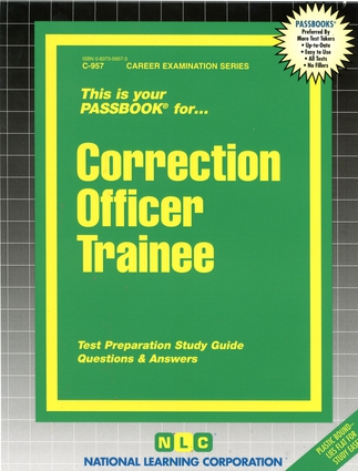 Correction Officer Trainee