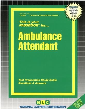 Ambulance Attendant
