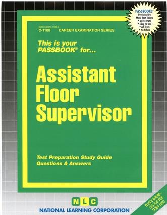 Assistant Floor Supervisor