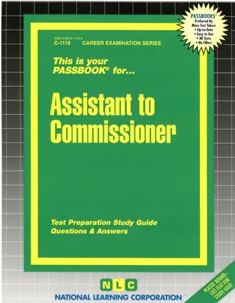 Assistant to Commissioner