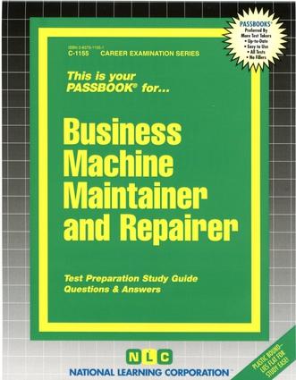 Business Machine Maintainer & Repairer