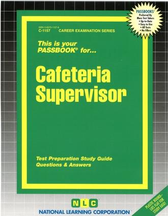 Cafeteria Supervisor