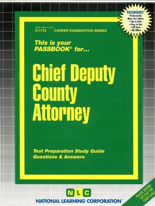 Chief Deputy County Attorney