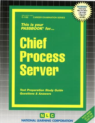 Chief Process Server