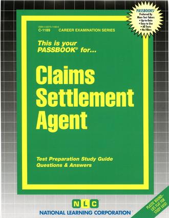 Claims Settlement Agent