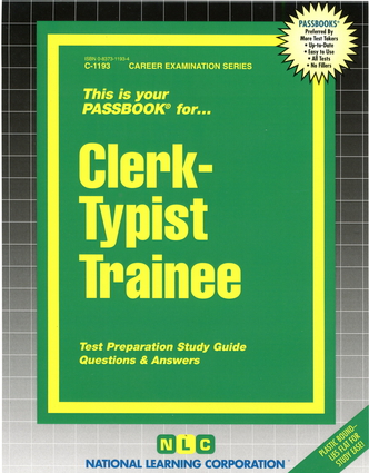 Clerk-Typist Trainee