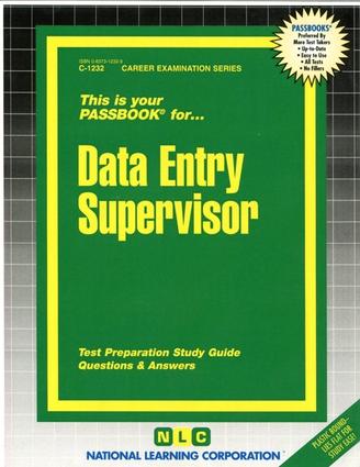 Data Entry Supervisor
