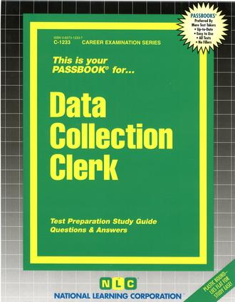 Data Collection Clerk