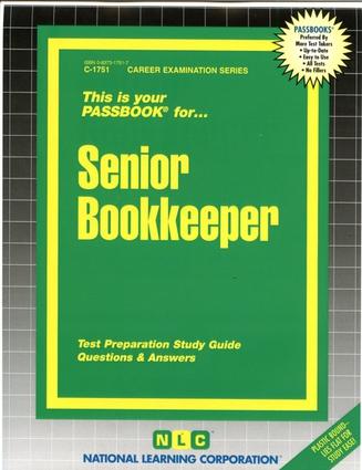 Senior Bookkeeper