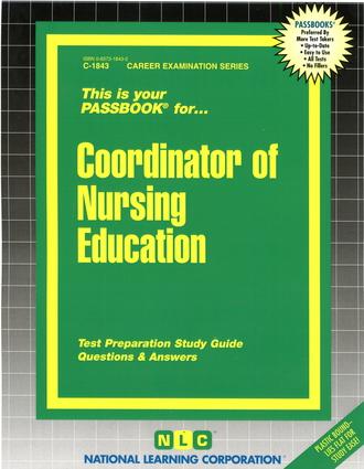 Coordinator of Nursing Education