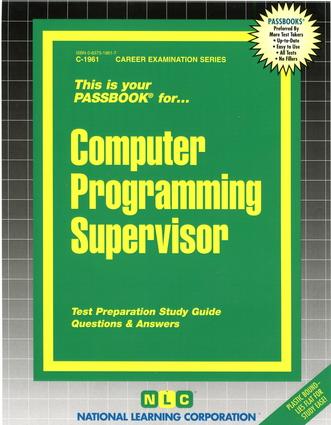 Computer Programming Supervisor