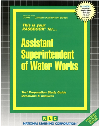 Assistant Superintendent of Water Works
