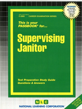 Supervising Janitor