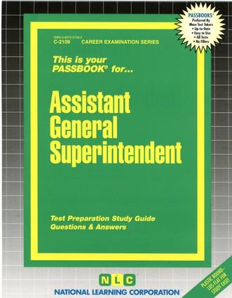 Assistant General Superintendent