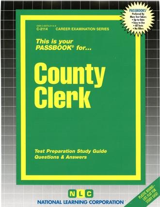 County Clerk