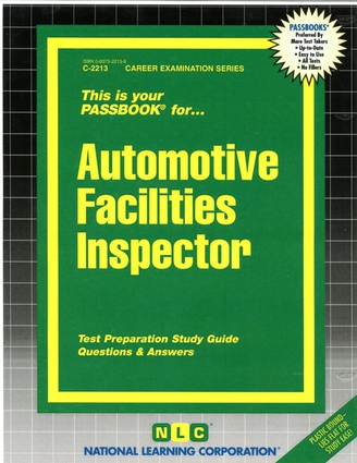 Automotive Facilities Inspector