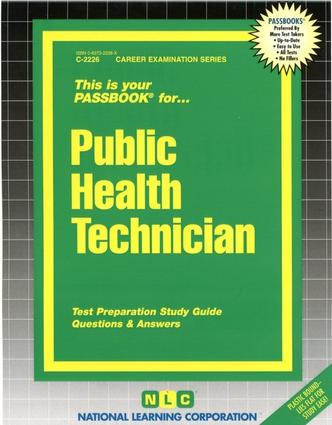 Public Health Technician