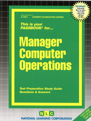 Manager Computer Operations
