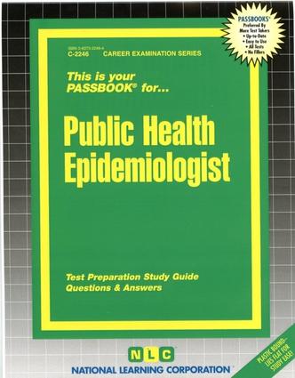 Public Health Epidemiologist