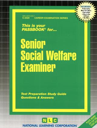 Senior Social Welfare Examiner