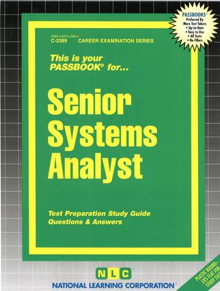 Senior Systems Analyst