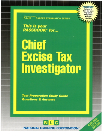 Chief Excise Tax Investigator
