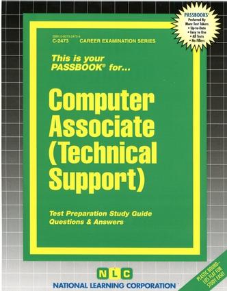 Computer Associate (Technical Support)